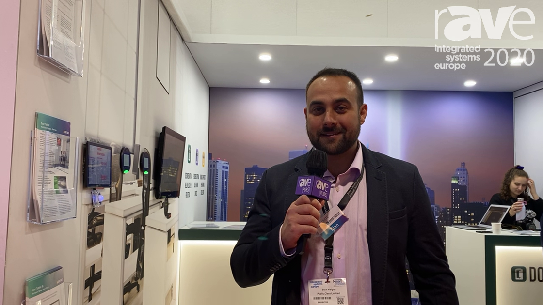 ISE 2020: Door Tablet Talks About Its Meeting Room and Workspace Room Scheduling Solution
