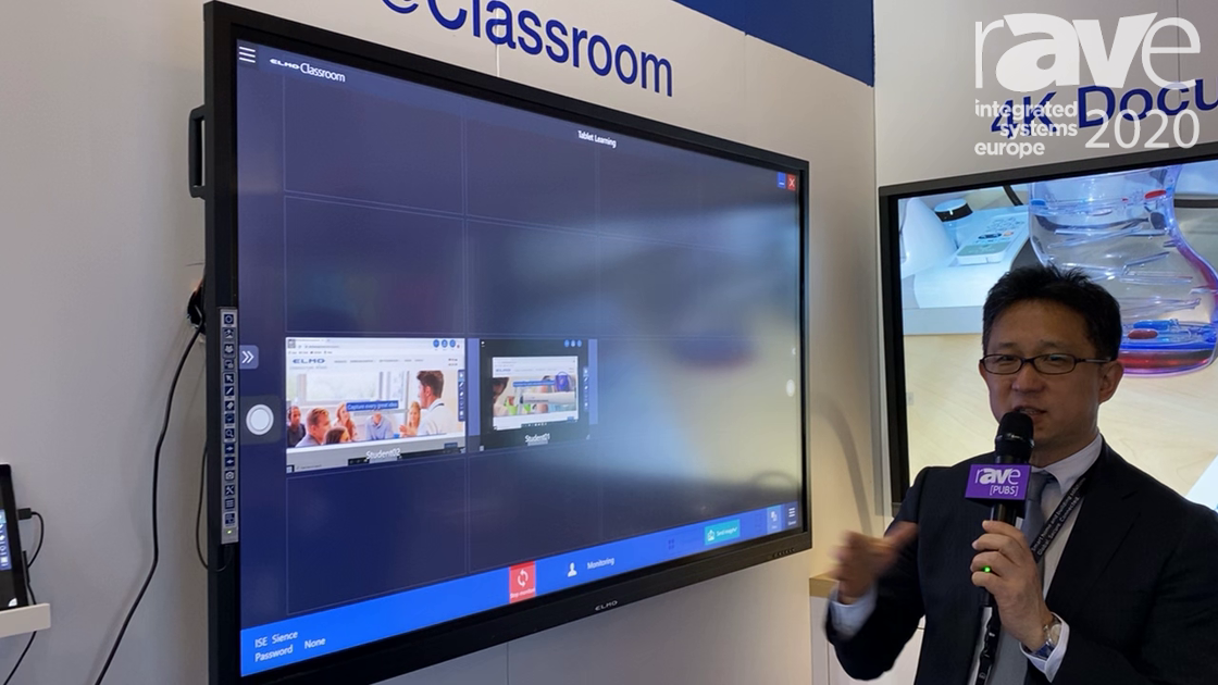 ISE 2020: ELMO Demonstrates Its Classroom Solutions