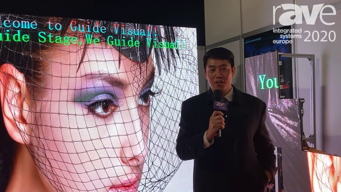 ISE 2020: Shenzhen Guide Technology Co. Demos Guide Visual Indoor 2.97 LED for Live Rental and Stage