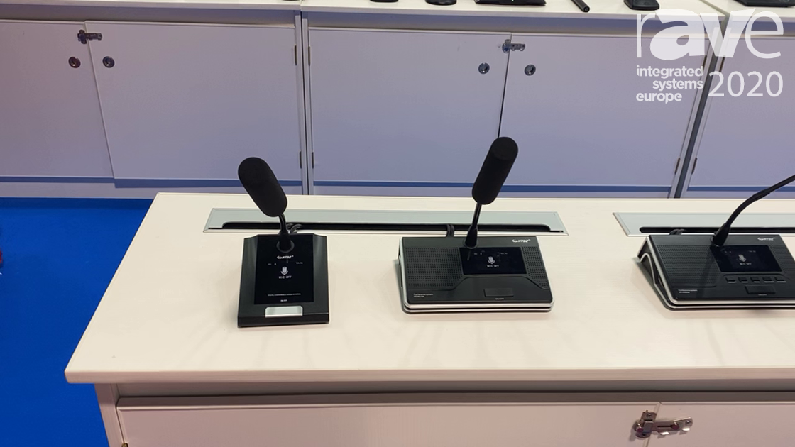 ISE 2020: HTDZ Introduces The HT-9500 Series Conference Systems