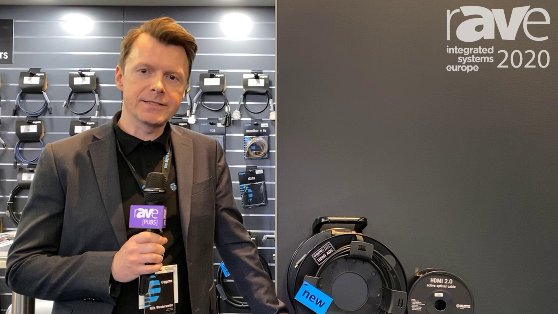 ISE 2020: KLOTZ Talks About Its New AIS HDMI AOC 2.0 Rage of Cables