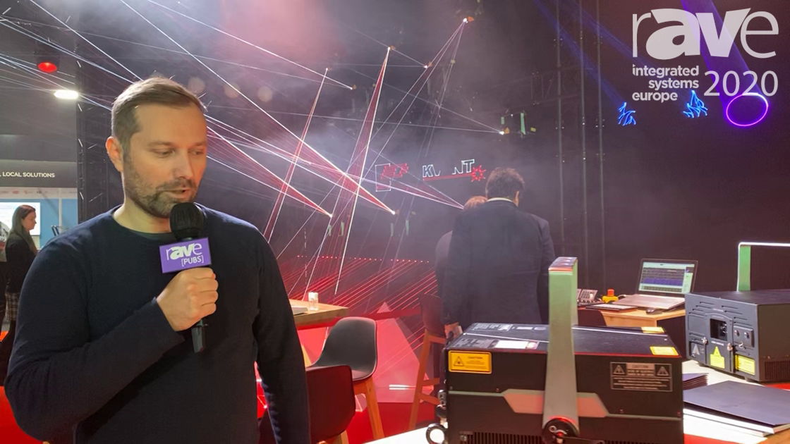 ISE 2020: KVANT Discusses the ClubMax 6000 Laser Light