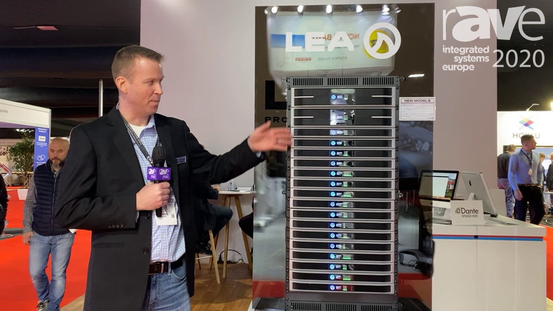 ISE 2020: LEA Professional Shows Its New Connect Series of Amplifiers