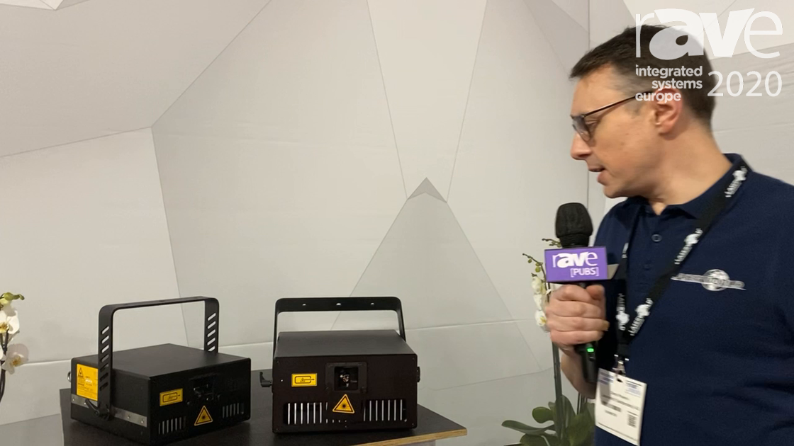 ISE 2020: Laser World Talks about Its New Tarm 18 Laser Light Series