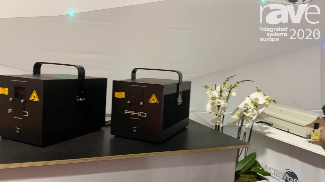ISE 2020: Laserworld Talks About its RTI Piko RGB 28 Laser Light Series
