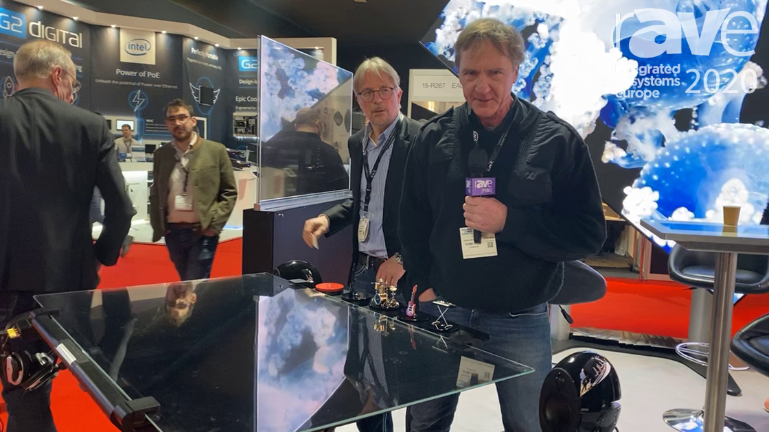 ISE 2020: Media Screen Demonstrates Its Touch Table with Object Recognition