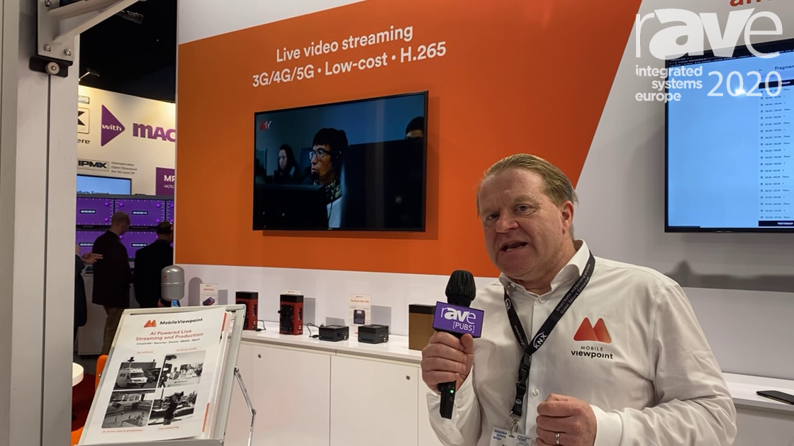 ISE 2020: Mobile Viewpoint Discusses Its IQ Sports Producer AI Camera System