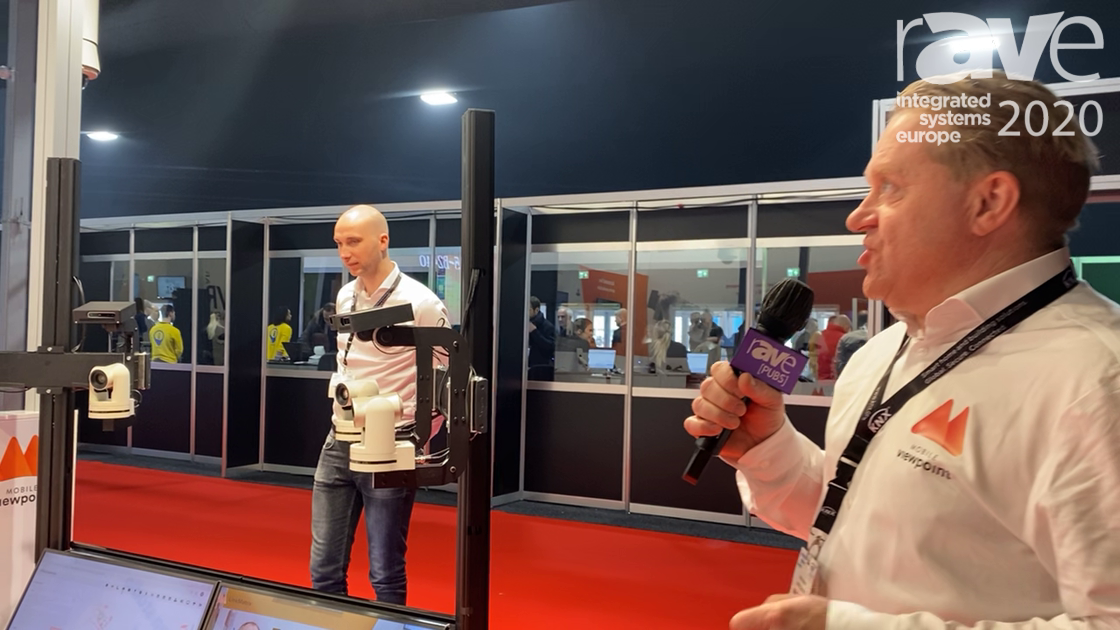 ISE 2020: Mobile Viewpoint Shows Off Its AI Driven UPilot Studio Video Production System
