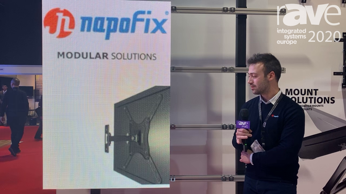 ISE 2020: Napofix Introduces Its Modular LED Mounting System