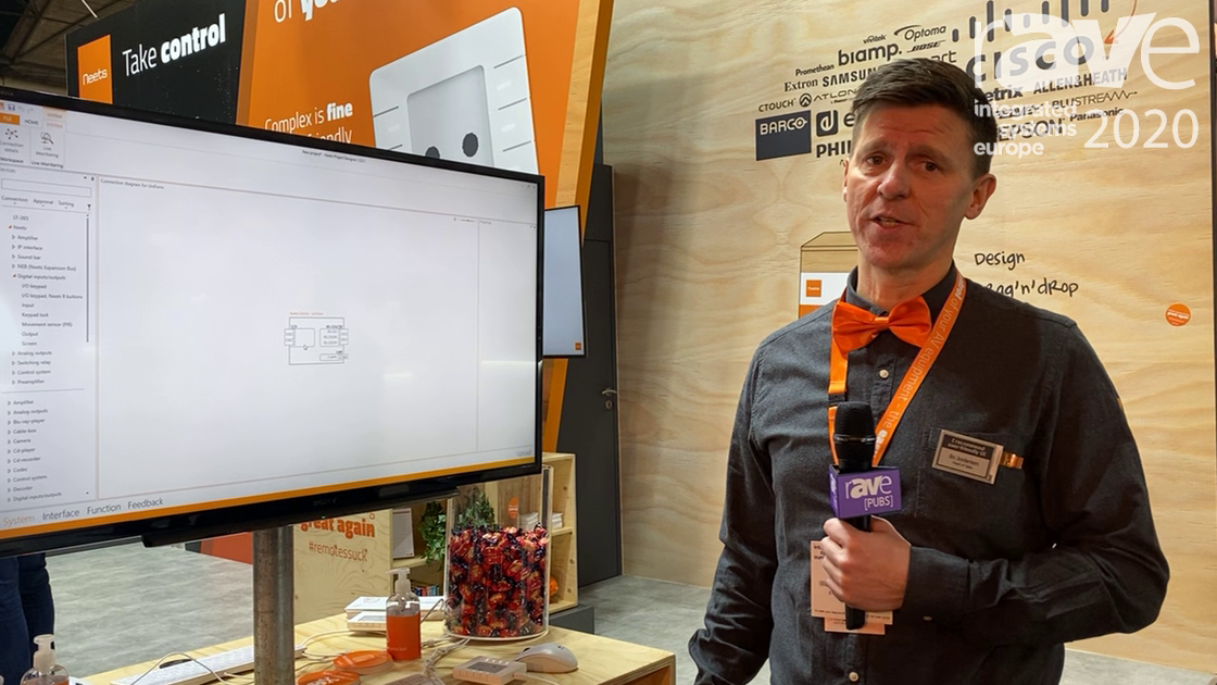 ISE 2020: Neets Discusses Its Project Designer Software for Room Control Systems