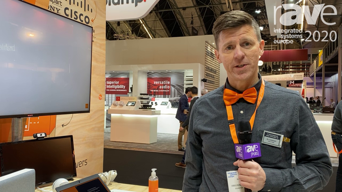 ISE 2020: Neets Demonstrates Its Solvo Room Control Assistant