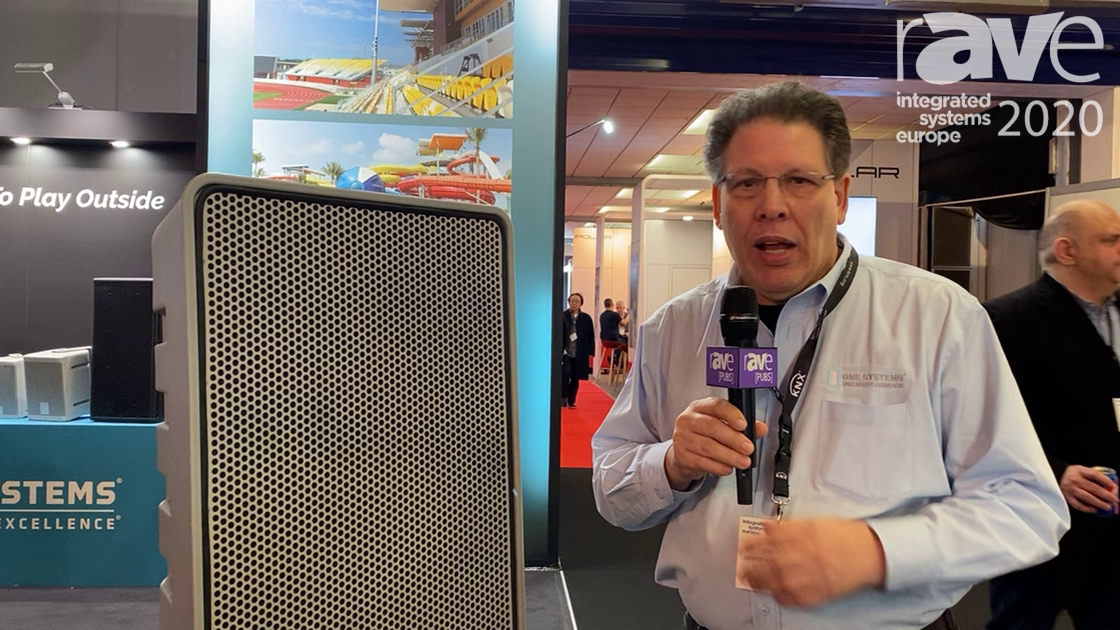 ISE 2020: One Systems Exhibits ONE.SL15 15-Inch Two-Way Loudspeaker