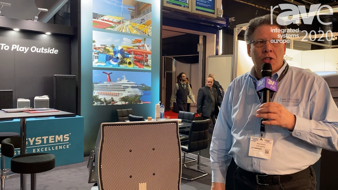 ISE 2020: One Systems Highlights ONE.SP12 Weather-Protected Loudspeakers