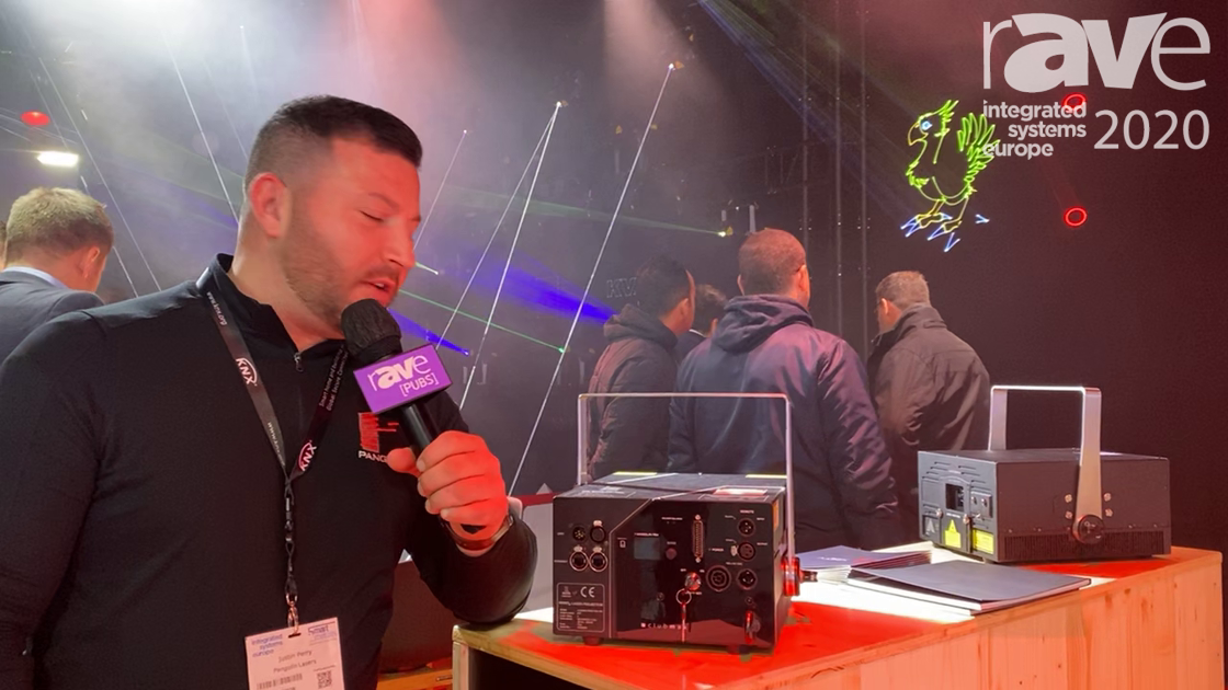 ISE 2020: Pangolin Systems Showcases FB4 Media Server in KVANT Laser Projectors for Laser Control