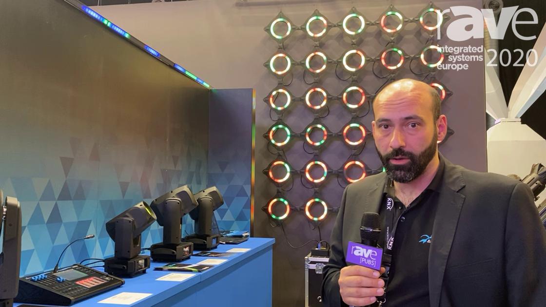 ISE 2020: Sagitter Illustrates Archer Spot S7, High-Power LED Optic Beam Light