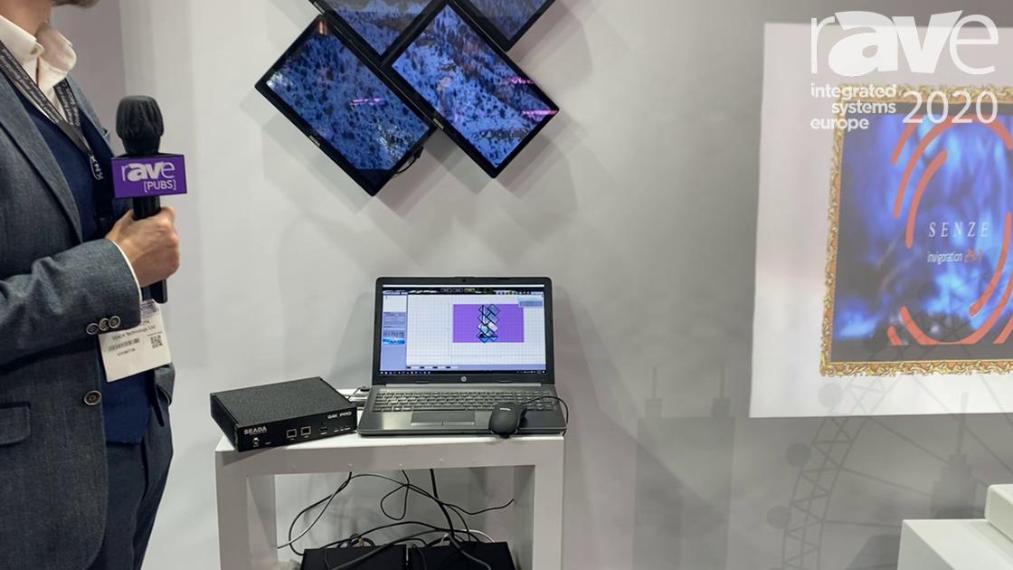 ISE 2020: Seada Technology Demos G4K Pro Creative Video Wall Controller