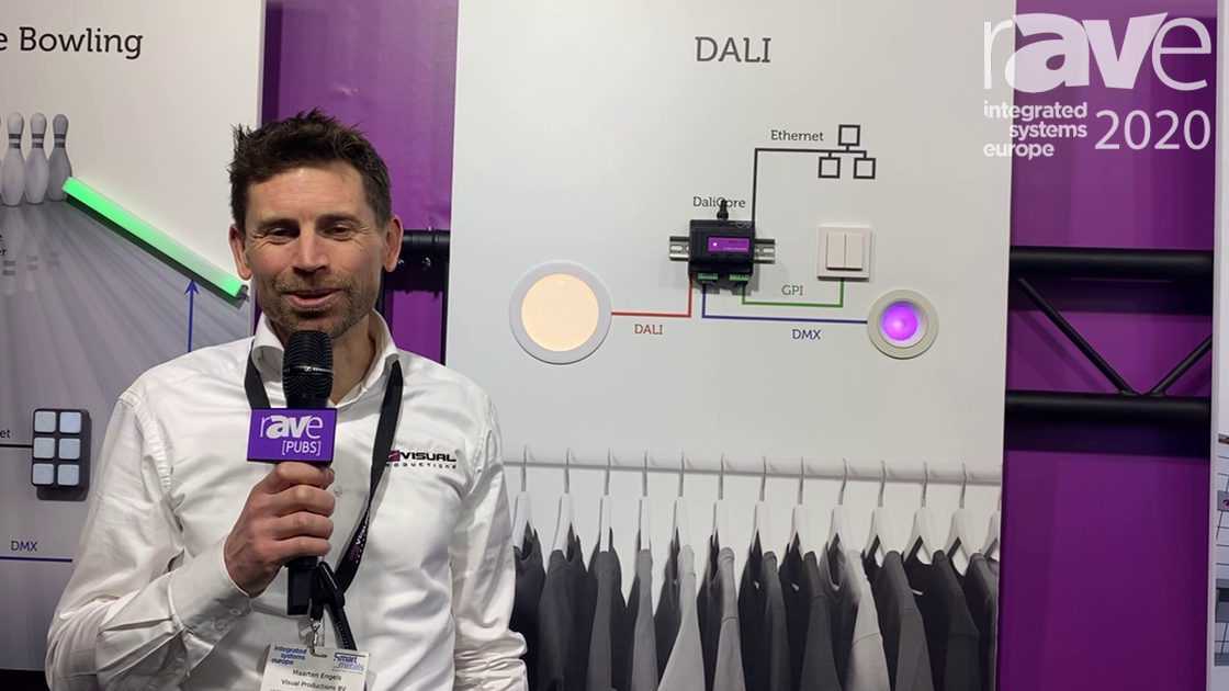 ISE 2020: Visual Productions Offers DaliCore Lighting Controller for Dali Fixtures