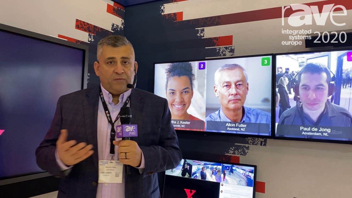 ISE 2020: X2O Media Explains and Demonstrates Virtual Collaboration Room