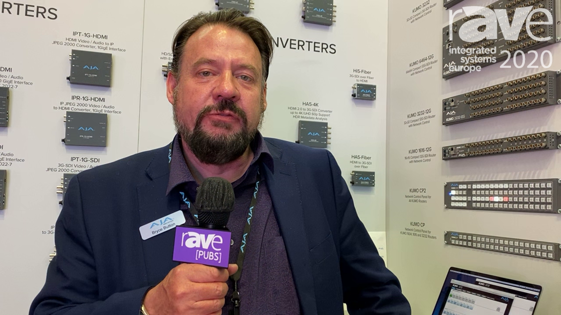 ISE 2020: AJA Video Systems Shows Io 4K Plus Thunderbolt Processor for 4K/UHD/2K/HD Workflows