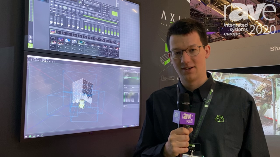ISE 2020: Green Hippo Talks AXIS Automatic 3D Projector Alignment System