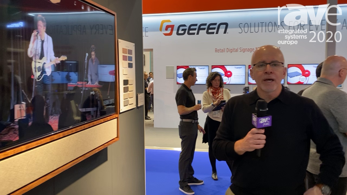 ISE 2020: Leon Speakers Explains Customizable Edge Media Frame with Custom Fit to Display