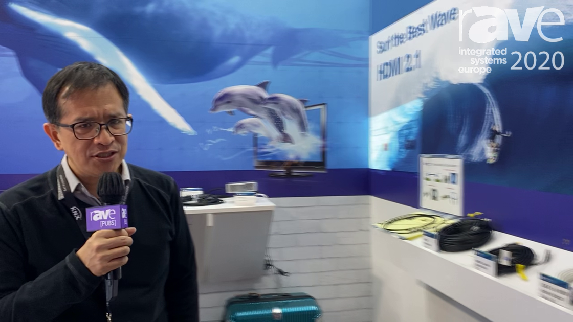 ISE 2020: SURE-FIRE Electrical Corporation Showcases HDMI 2.1 Active Optical Cable