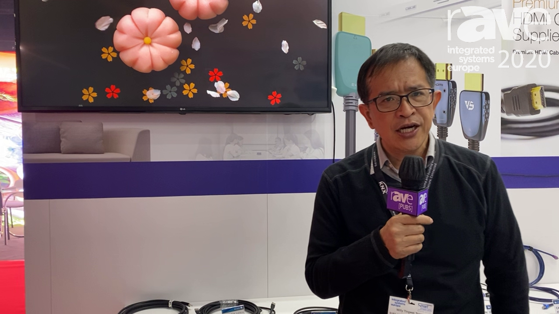 ISE 2020: SURE-FIRE Electrical Corporation Explains HDMI 2.1 Ultra High Speed Cable