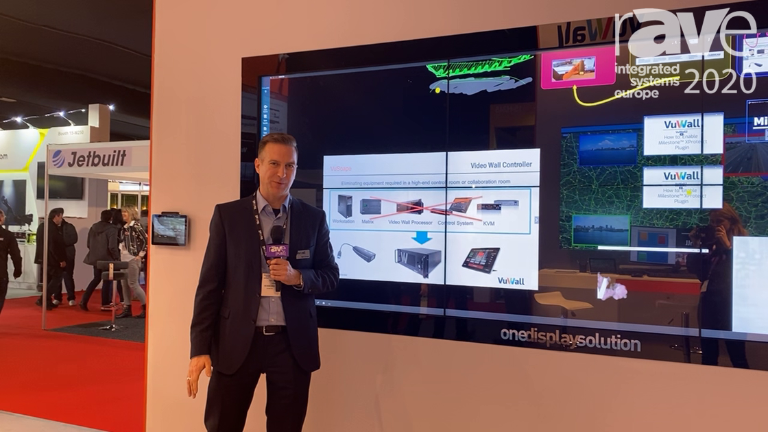 VuWall Enhances VuScape Video Wall Controller with Collaboration and KVM Features
