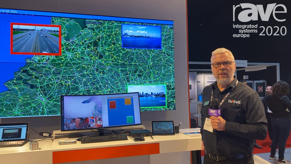 ISE 2020: VuWall Talks Upgrades to VuWall 2 Video Wall Control and Collaboration Software