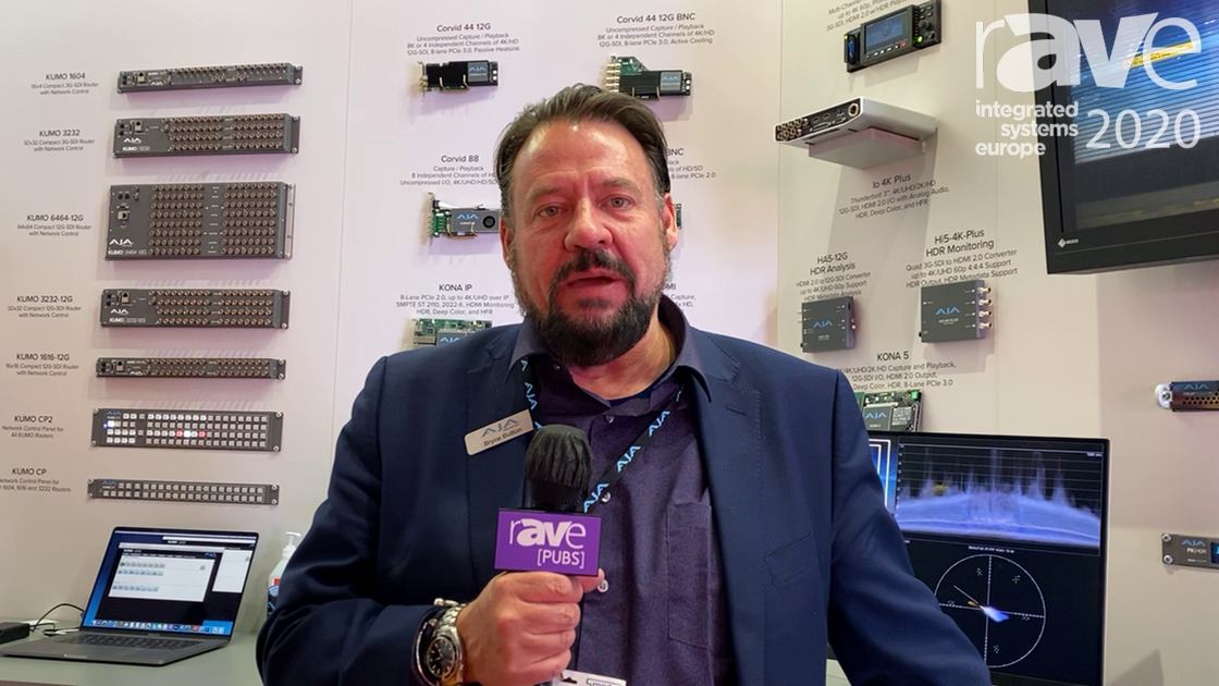 ISE 2020: AJA Video Systems Discusses HDR Image Analyzer 12G for HDR/SDR Monitoring and Analysis