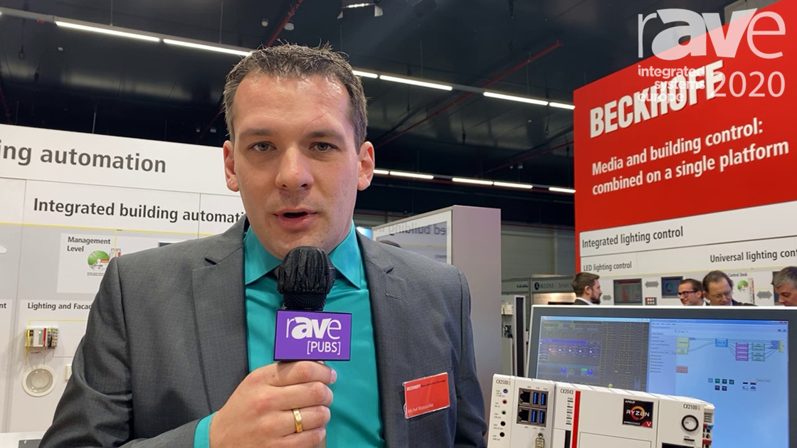 ISE 2020: Beckhoff Demos CX2043 Basic CPU (Central Processing Unit) with New AMD Ryzen Processors