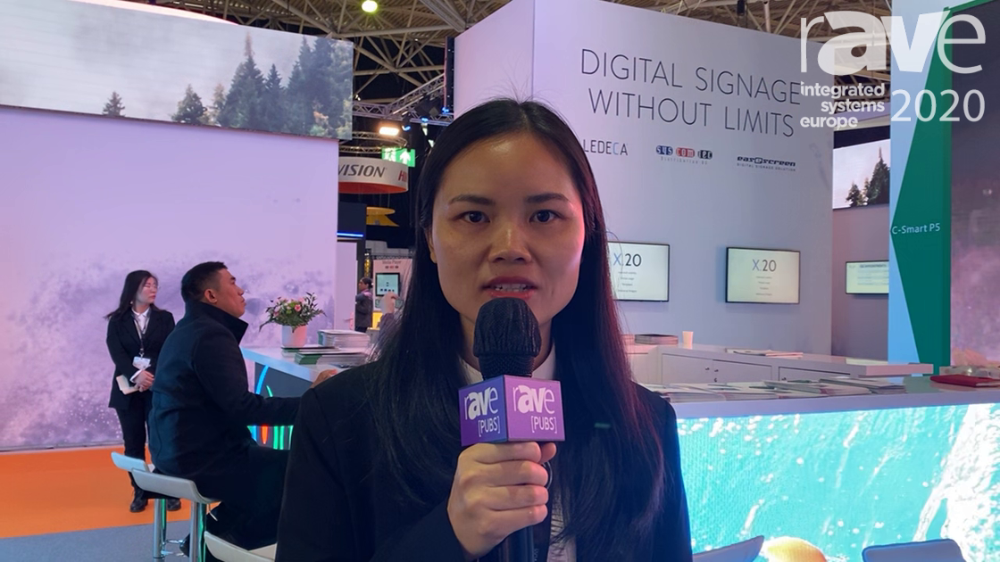 ISE 2020: Shenzhen Chip Optech (Chipshow) Talks Its C-Smart LED Panels for Outdoor Use