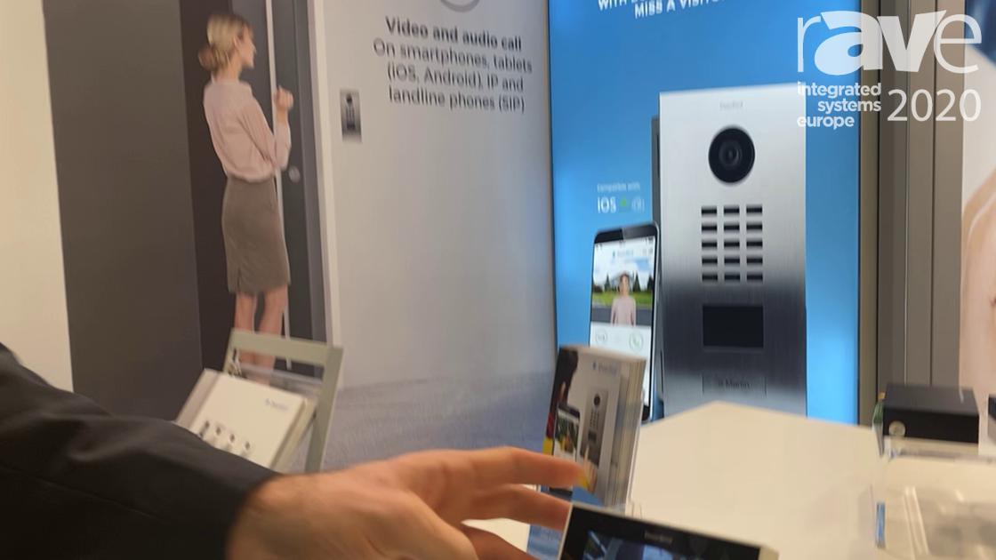 ISE 2020: DoorBird Showcases IP Video Indoor Station A1101 Door Intercom with New Call Feature
