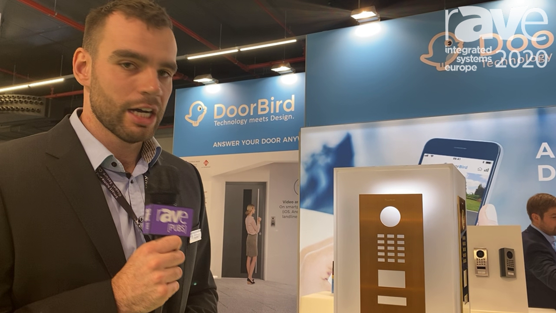 ISE 2020: DoorBird Shows Off Customizable Colors, Materials and Finishes for Door Intercom Solution