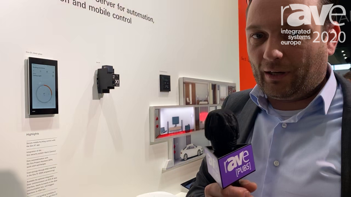 ISE 2020: Gira Shows Off 7-Inch G1 Touch Panel for Building Control and Intercom Integration