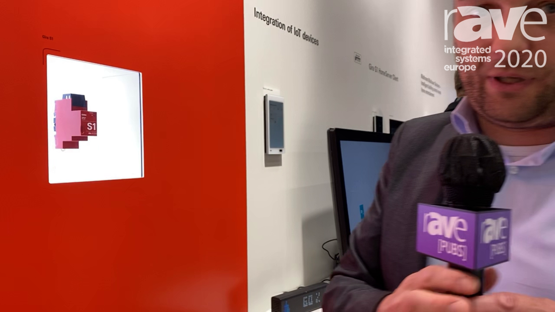 ISE 2020: Gira Demonstrates S1 Remote Building Access Device for KNX Installations