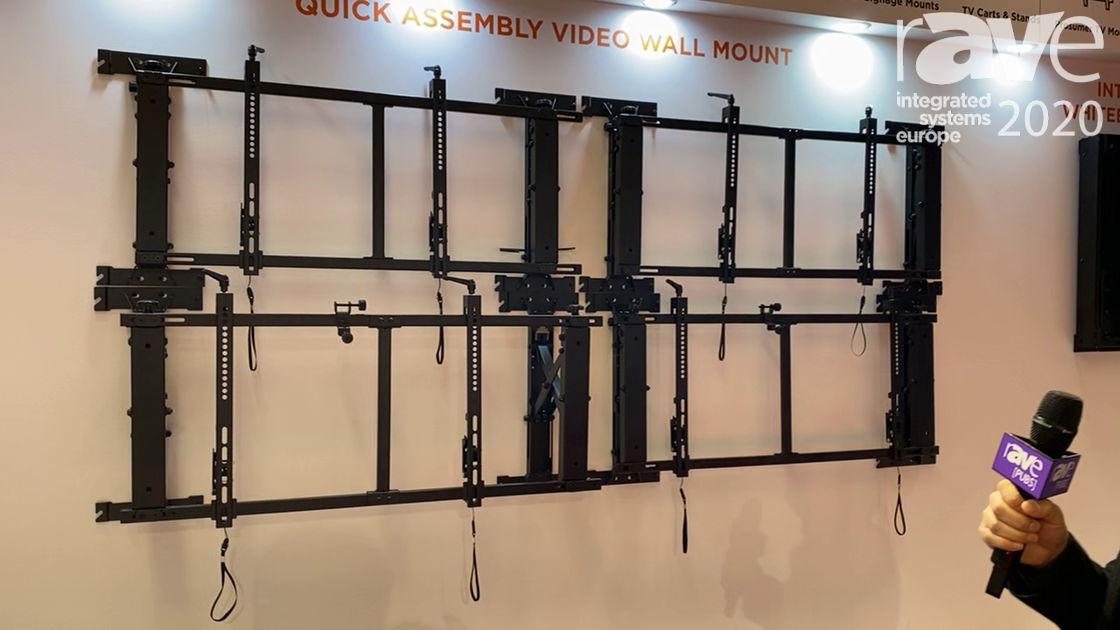 ISE 2020: Lumi Legend Debuts Its Quick Assembly Video Wall Mount