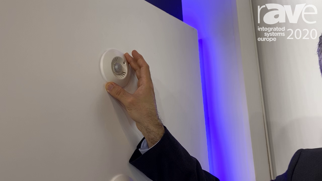 ISE 2020: Panasonic Life Solutions Turkey Shows Motion, Temperature, Humidity Detectors