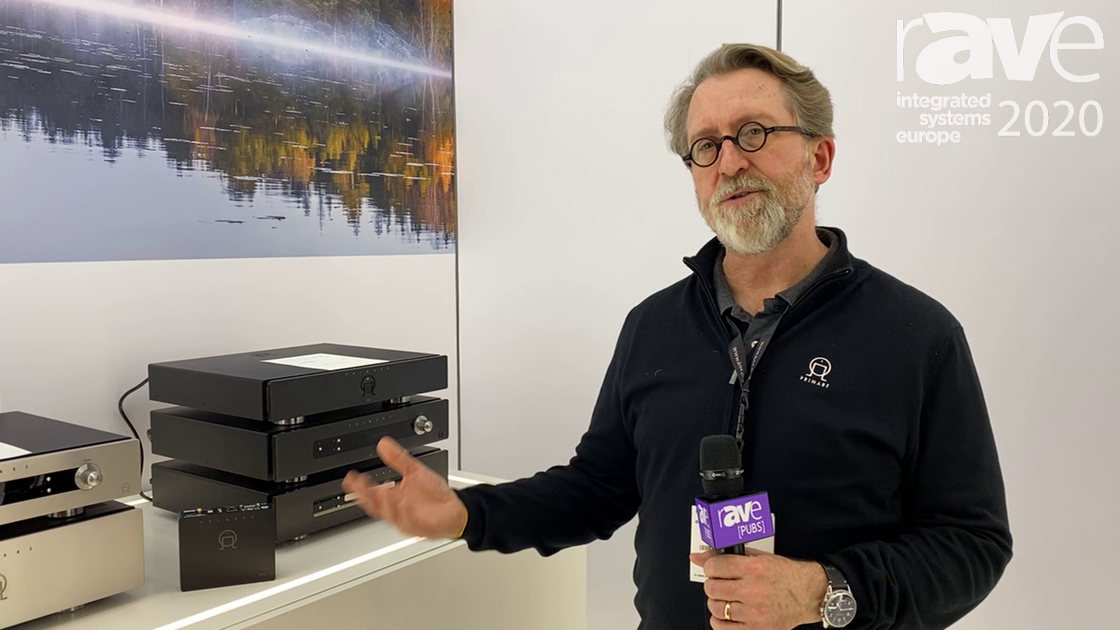 ISE 2020: Primare Celebrates Completion of Prisma Two-Channel Line for Prisma NP5 Network Player
