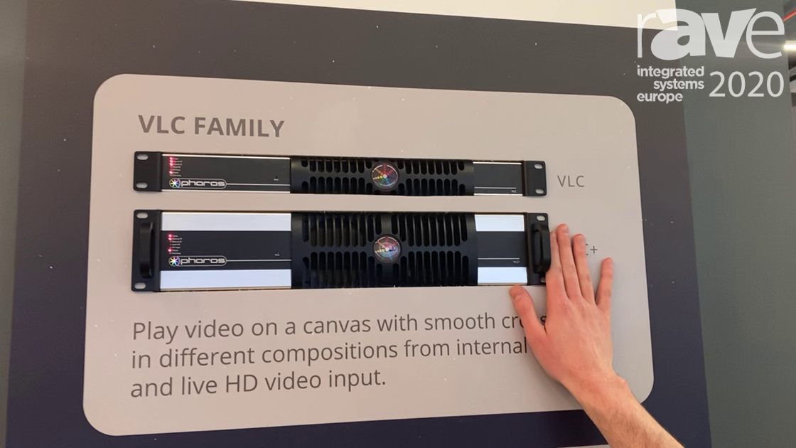 ISE 2020: Pharos Architectural Controls Talks About VLC Family of Video Lighting Controllers
