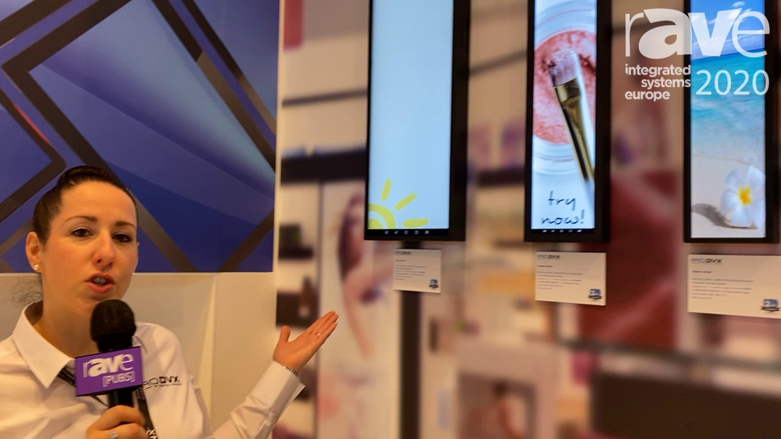 ISE 2020: ProDVX Europe Exhibits Ultra Wide Signage Displays in 24-Inch, 28-Inch and 37-Inch Sizes