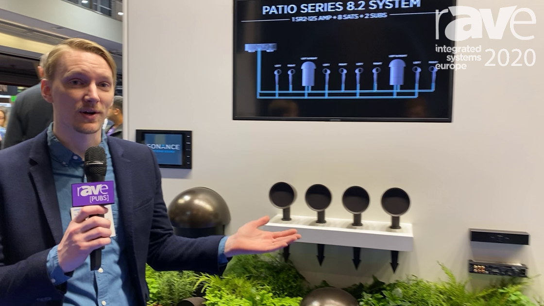 ISE 2020: Sonance Launches Patio Series of Outdoor Speaker System