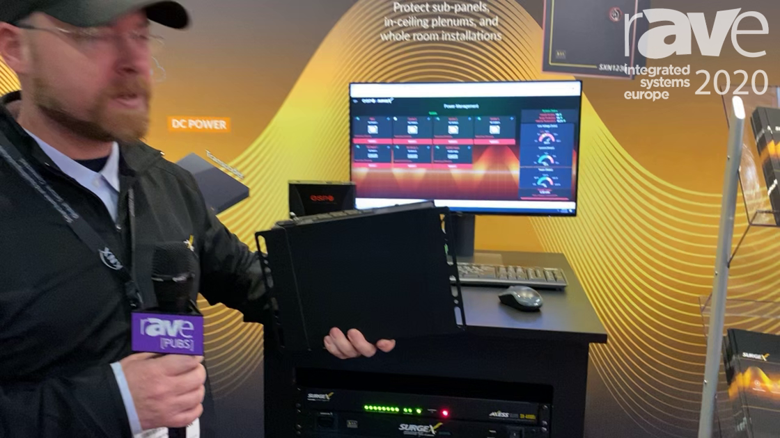 ISE 2020: SurgeX Exhibits SQUID Power-Management Device for Network Control and Remote Monitoring