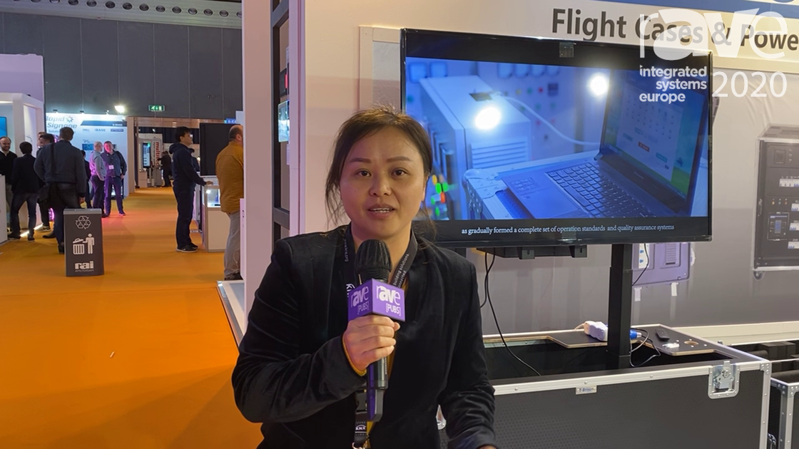 ISE 2020: Shenzhen T-Brisun Case Co. Demos Its Sliding Flight Case and Power Distribution Cabinet