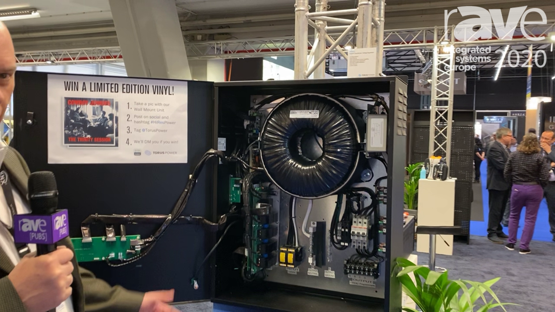 ISE 2020: Torus Power Talks About Its Wall Mount Power Solution
