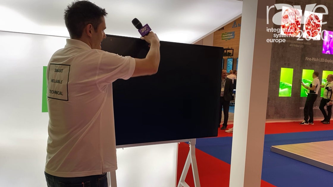 ISE 2020: Vision Introduces Its VFM F-10 Rolling Floor Stand