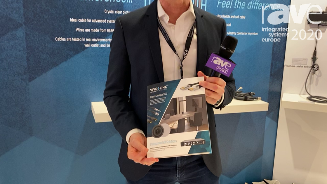 ISE 2020: VivoLink Has a New Catalog With Its ProAV Accessories