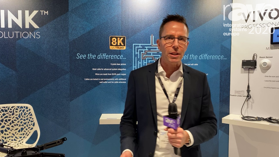ISE 2020: VivoLink Shows Off the ProHDMIHDM10 Very Flexible Pure Cover HDMI Cable
