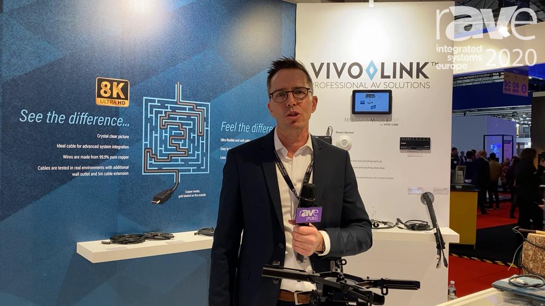 ISE 2020: VivoLink Highlights the VLMC3505-B Universal Projector Mount