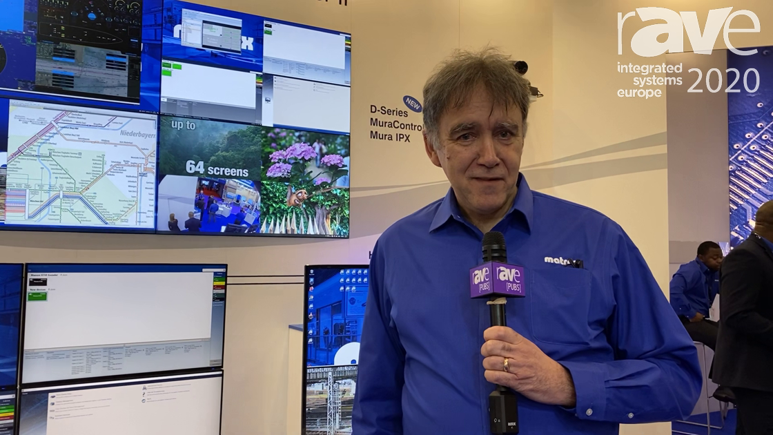 ISE 2020: Matrox Shows How KVM, Streaming Codecs, Wall Controllers Work Within Ecosystem
